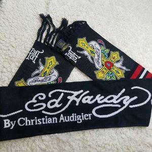 Ed Hardy By Christian Audigier Mens Black Cross Pr